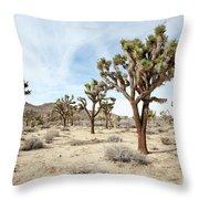 Joshua Tree National Park, California Throw Pillow
