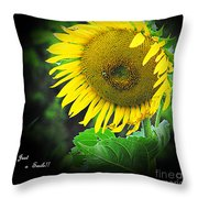 Just A Smile  Throw Pillow