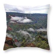 Kauai Hawaii Usa Throw Pillow