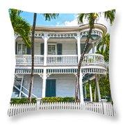 Key West Florida The Conch Republic Throw Pillow