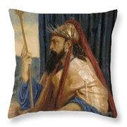 King Solomon Throw Pillow