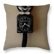 Kit Cat Klock Throw Pillow
