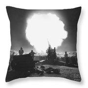 Korean War, 1952 Throw Pillow
