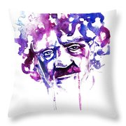 Kurt Vonnegut Throw Pillow