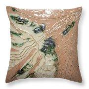 Lady - Tile Throw Pillow