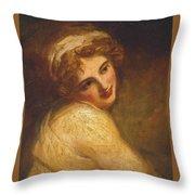 Lady Hamilton Throw Pillow