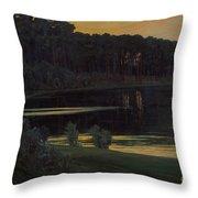 Lake Grunewald Throw Pillow