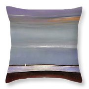 Lake Shimmers Throw Pillow