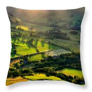 Landscape By Throw Pillow