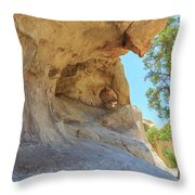 Landscape In Joshua Tree National Park Throw Pillow