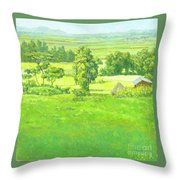 Landscape 2 Throw Pillow