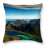 Landscapers Throw Pillow