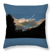 Lanin National Park Throw Pillow