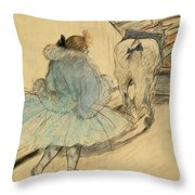 Lautrec  Throw Pillow