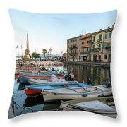 Lazise - Italy Throw Pillow