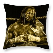 Lennox Lewis Collection Throw Pillow