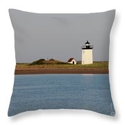 Lighthouse Provincetown  Throw Pillow