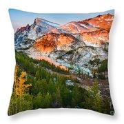 Little Annapurna Throw Pillow