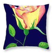 Love In Bloom Throw Pillow