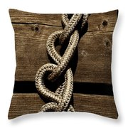 Love Knots Throw Pillow