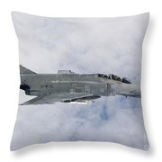 Lufwaffe F-4f Phantom Throw Pillow