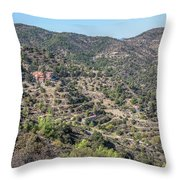 Machairas Monastery - Cyprus Throw Pillow