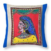 Madhubani  Throw Pillow