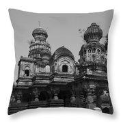 Mahuli Village Throw Pillow