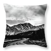 Mammoth Lakes Area Of California Throw Pillow