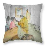 Mangia It Is Italy Album Throw Pillow