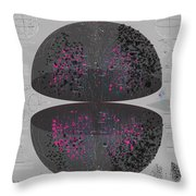 Map Of The Entire Universe Superclusters And Voids Throw Pillow