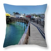 Marina Rubicon - Lanzarote Throw Pillow