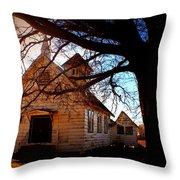 Marsh Berea Church Throw Pillow