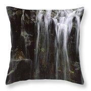 Maui Waterfall Throw Pillow