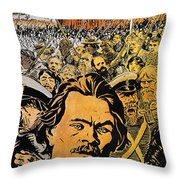 Maxim Gorki (1868-1936) Throw Pillow