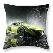 Mclaren 675lt Throw Pillow
