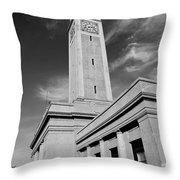 Memorial Tower - Lsu Bw Throw Pillow