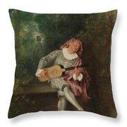 Mezzetin  Throw Pillow