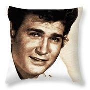 Michael Landon, Actor Throw Pillow