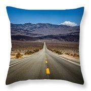 Miles To Anywhere Throw Pillow