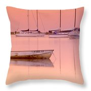 Misty Morning Osterville Cape Cod Throw Pillow