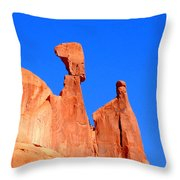 Moab Landscape Throw Pillow