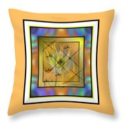 Modern Colours Throw Pillow