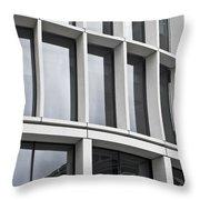 Modern Office Building Throw Pillow