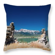 Mono Lake Tufa Throw Pillow