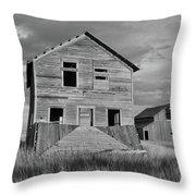 Montana Memories Throw Pillow