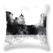 Montgomery Alabama Skyline Throw Pillow