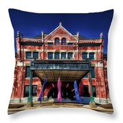 Montgomery Union Station Throw Pillow