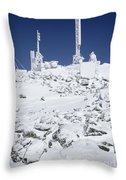 Mount Washington State Park - White Mountains New Hampshire Usa Throw Pillow