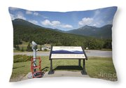 Mount Washington Valley - Gorham New Hampshire Usa Throw Pillow